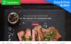 Responsivt Moto CMS 3-mall för europeisk restaurang New Screenshots BIG