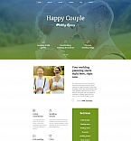 Wedding Moto CMS 3  Template 59221