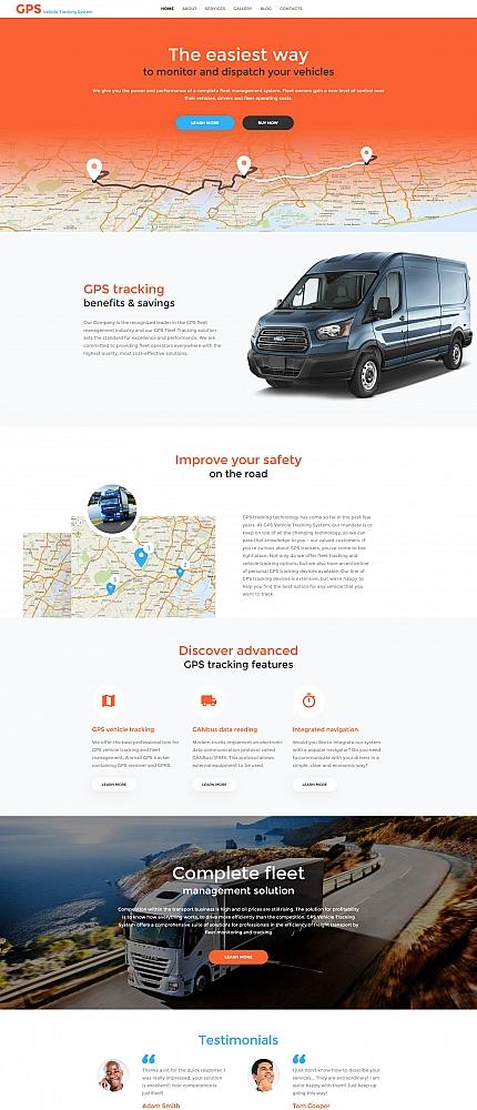 ADOBE Photoshop Template 59225 Home Page Screenshot