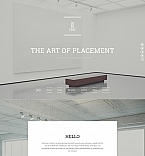 Furniture Moto CMS 3  Template 59227