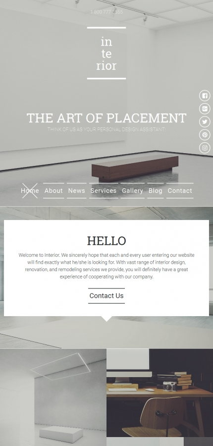 ADOBE Photoshop Template 59227 Home Page Screenshot