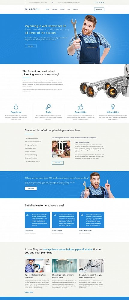 ADOBE Photoshop Template 59229 Home Page Screenshot