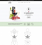 Food & Drink Moto CMS 3  Template 59230