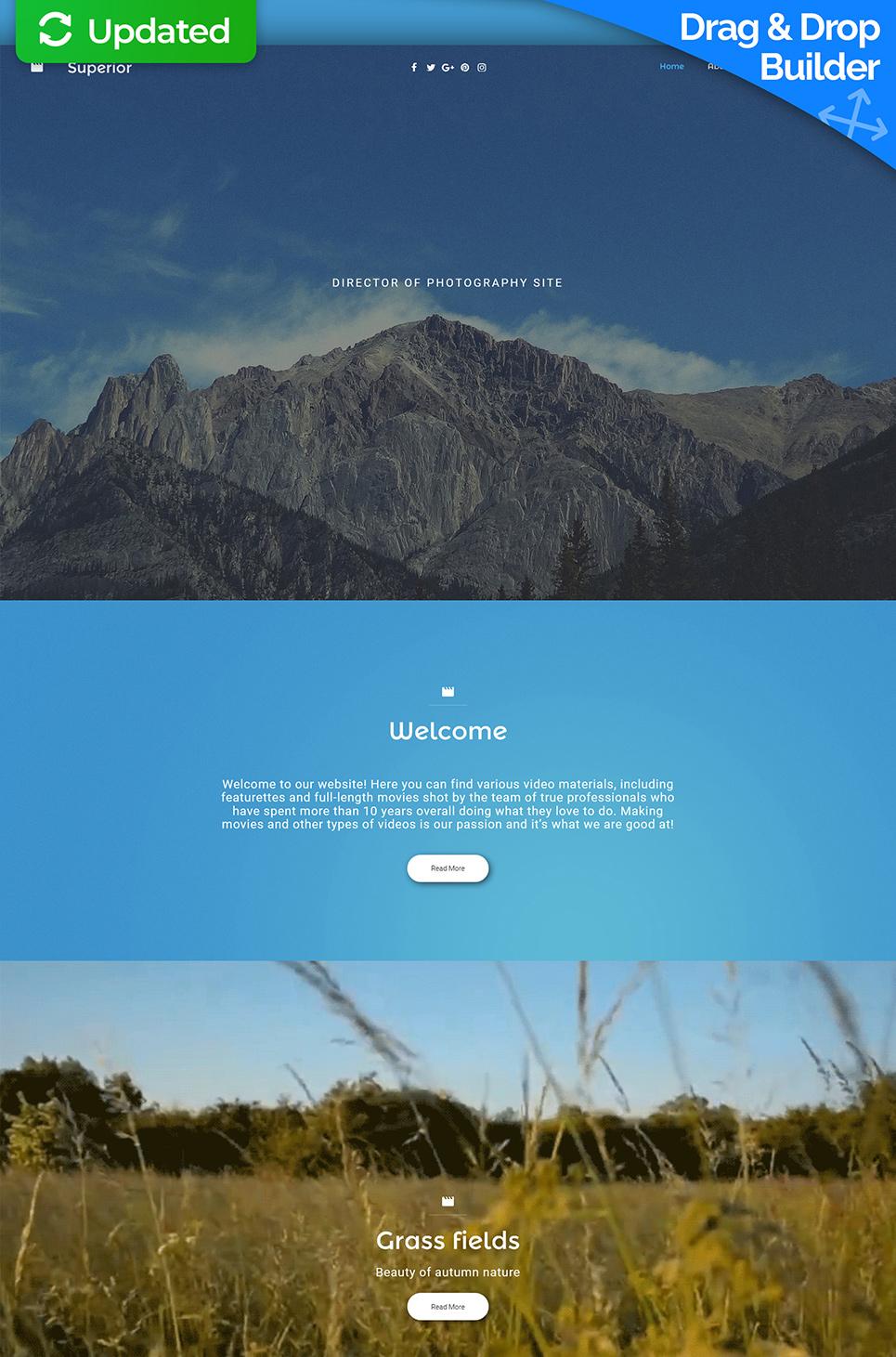 Superior Responsive Website Template - image