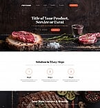 Cafe & Restaurant Landing Page  Template 59236
