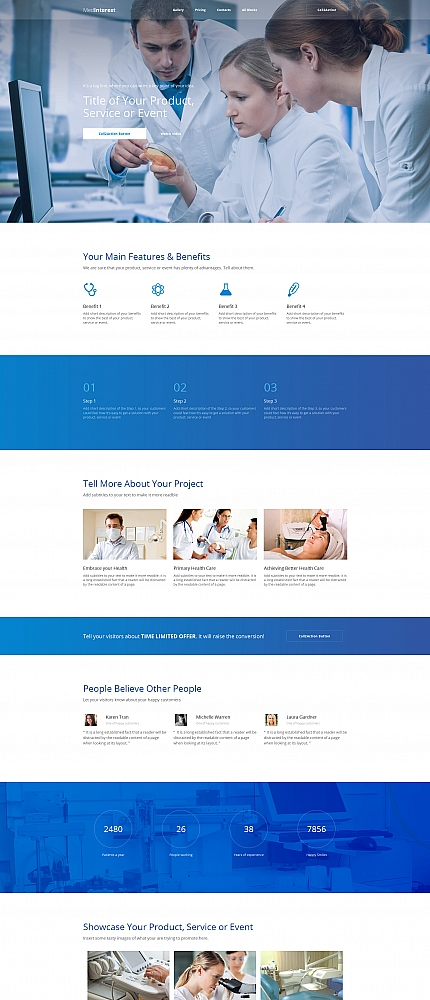 ADOBE Photoshop Template 59237 Home Page Screenshot