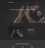Art & Photography Landing Page  Template 59238