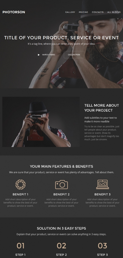 ADOBE Photoshop Template 59238 Home Page Screenshot