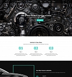 Cars Landing Page  Template 59239