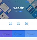 Software Landing Page  Template 59240
