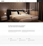 Hotels Landing Page  Template 59242