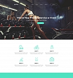 59243 Sport Landing Page Templates