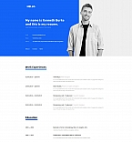 59245 Personal Pages Landing Page Templates