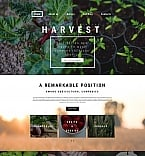 Agriculture Moto CMS 3  Template 59260