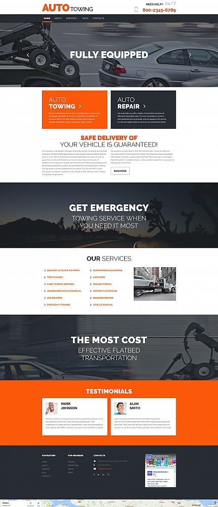 ADOBE Photoshop Template 59262 Home Page Screenshot