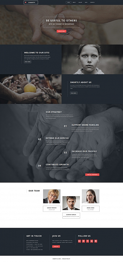 ADOBE Photoshop Template 59263 Home Page Screenshot