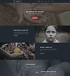 Charity Moto CMS 3  Template 59263