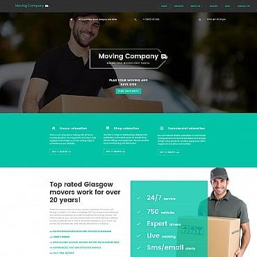 Купить Шаблон сайта компании экспресс доставки. Купить шаблон #59269 и создать сайт.