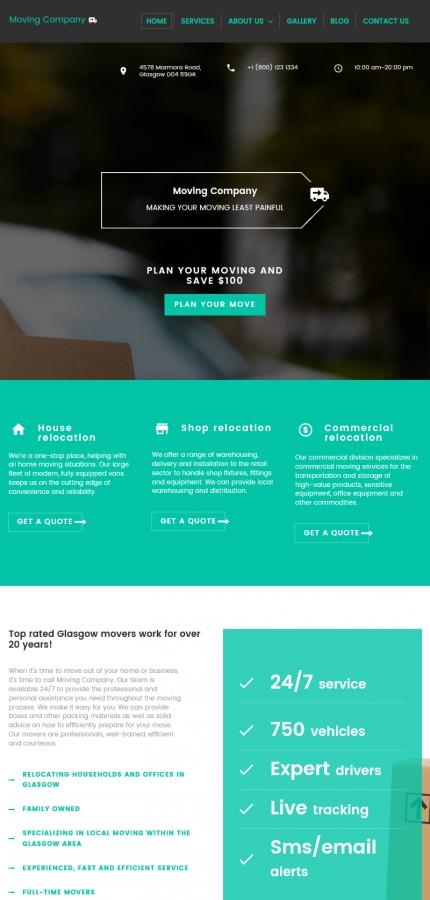 ADOBE Photoshop Template 59269 Home Page Screenshot