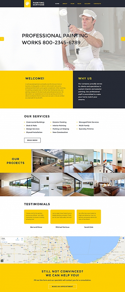 ADOBE Photoshop Template 59274 Home Page Screenshot