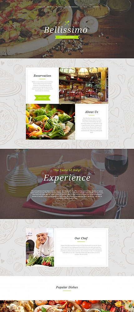 ADOBE Photoshop Template 59275 Home Page Screenshot