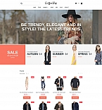 Fashion MotoCMS Ecommerce  Template 59280