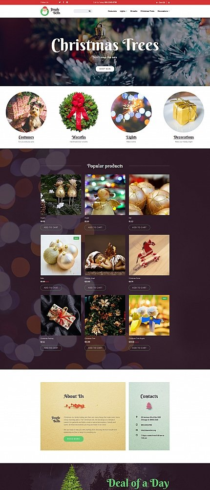 ADOBE Photoshop Template 59281 Home Page Screenshot