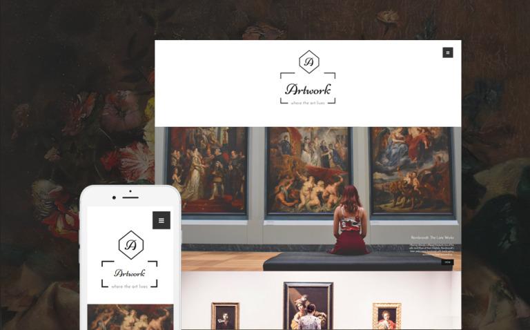 Artwork WordPress Theme New Screenshots BIG