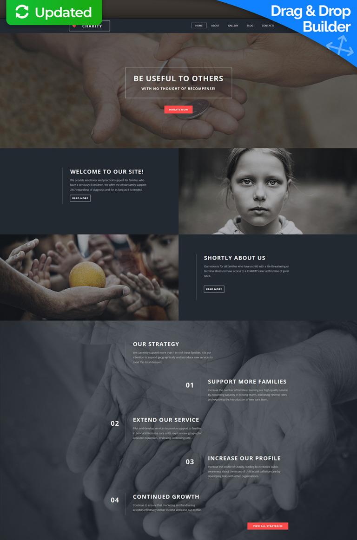 Child Charity Responsive Moto CMS 3 Template New Screenshots BIG