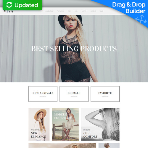 Viva - MotoCMS Ecommerce Template based on Bootstrap