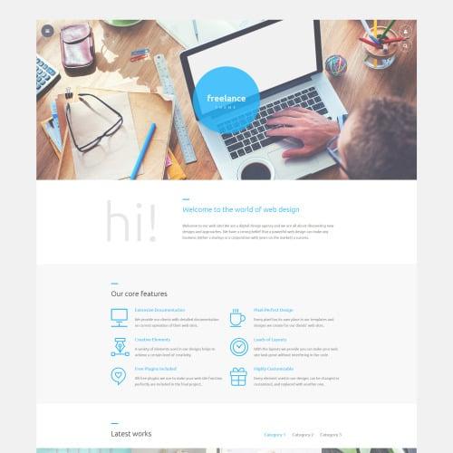 Freelance - Joomla! Template based on Bootstrap