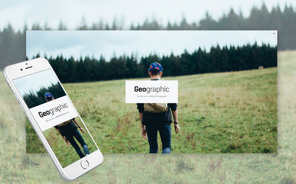 GeoPhoto - Portfolio Responsive WordPress Theme New Screenshots BIG