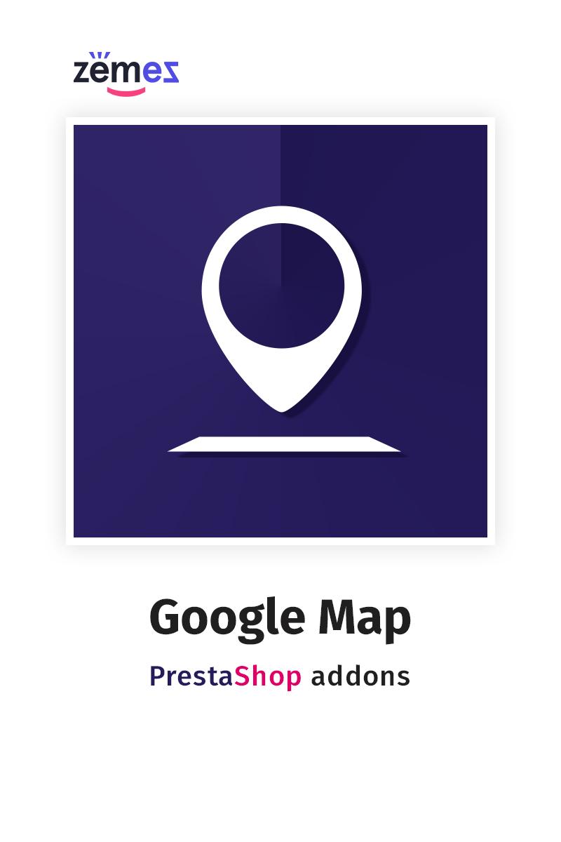 Google Map PrestaShop Modul #59256