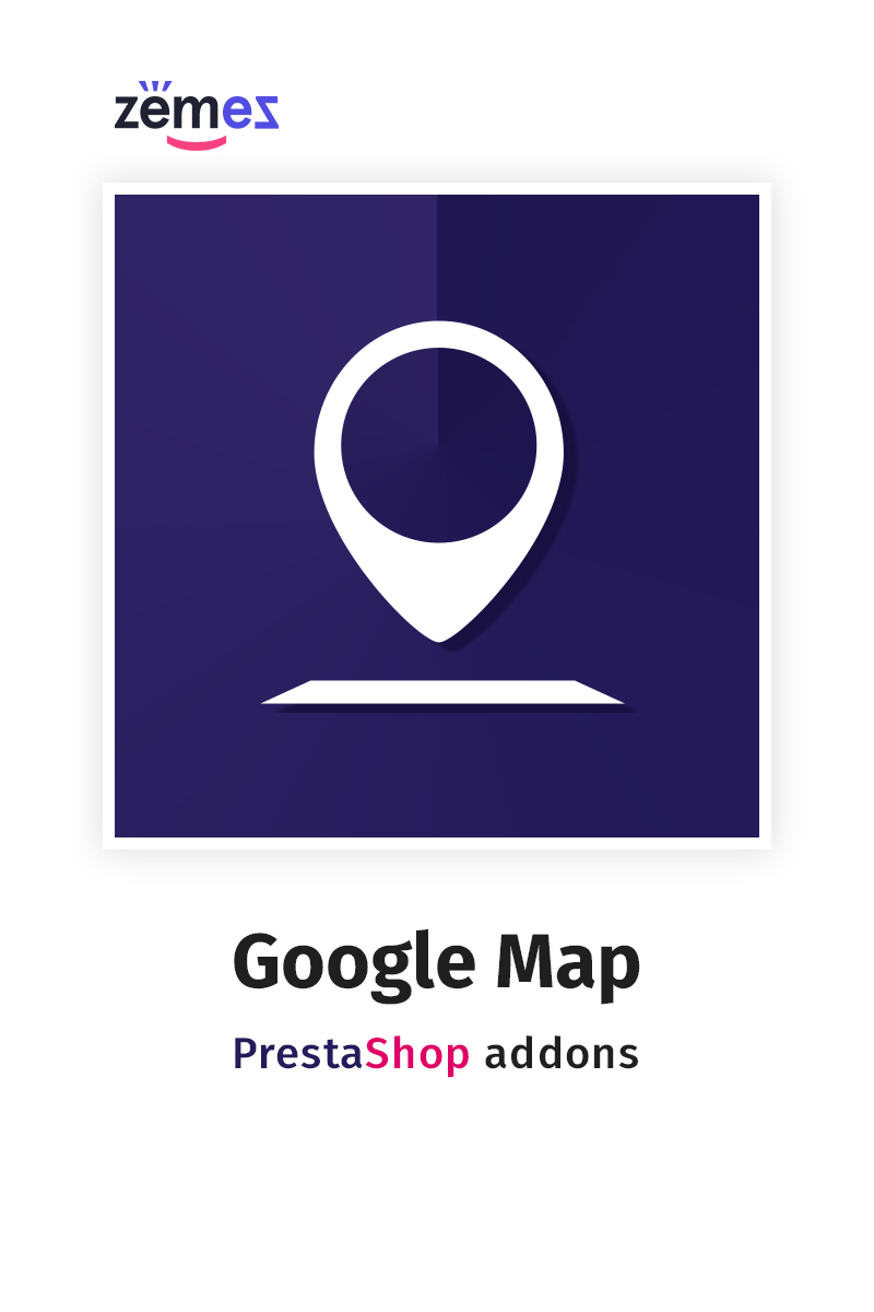 Google Map PrestaShop Module - screenshot