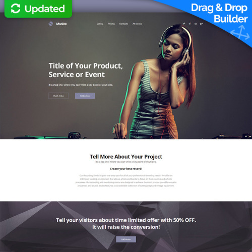Dj Responsive - Landing Page Template based on Bootstrap