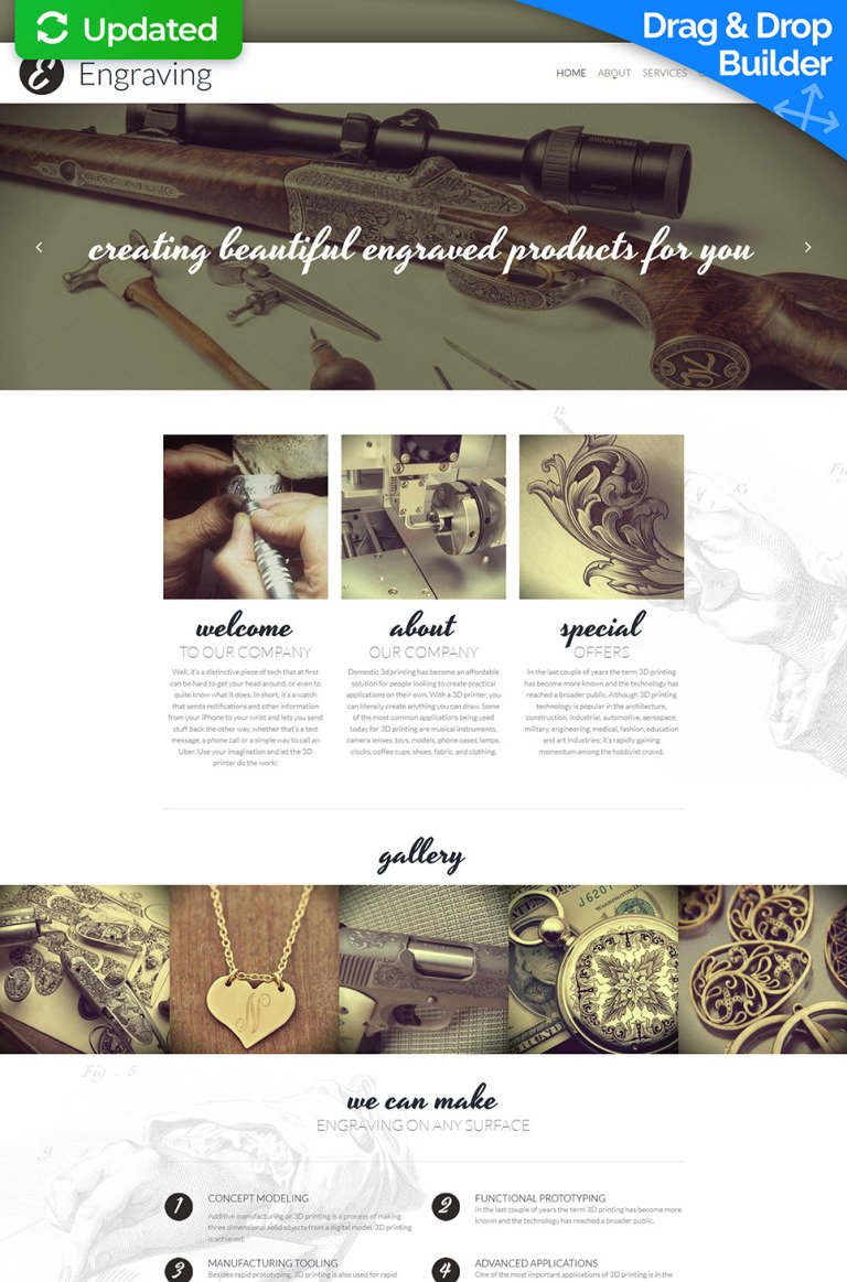 Print Shop Responsive Moto CMS 3 Template New Screenshots BIG