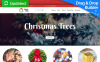 Responsive MotoCMS Ecommercie Template over Kerstmis New Screenshots BIG