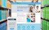 Responsive Website template over Schrijver/Auteur New Screenshots BIG