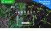 Responsives Moto CMS 3 Template für Landwirtschaft  New Screenshots BIG