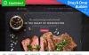 Responzivní Moto CMS 3 šablona na téma Evropská kuchyně Restaurace New Screenshots BIG