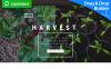Responzivní Moto CMS 3 šablona na téma Zemědělství New Screenshots BIG