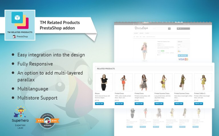TM Related Products PrestaShop Module New Screenshots BIG
