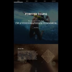 Videographer Templates TemplateMonster - Cinematographer website templates