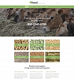 Сельское хозяйство. Шаблон сайта 59300