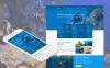 Prémium Búvárkodás témakörű  Moto CMS HTML sablon New Screenshots BIG