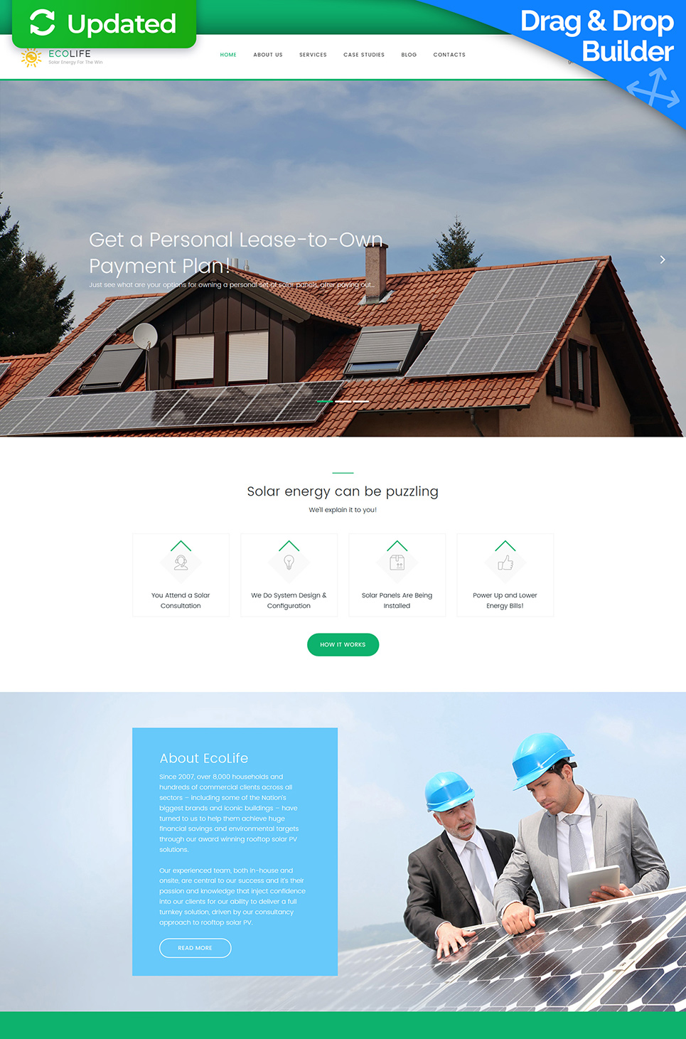 Eco Life Responsive Website Template - image