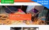Responsivt Moto CMS 3-mall för svetsning New Screenshots BIG