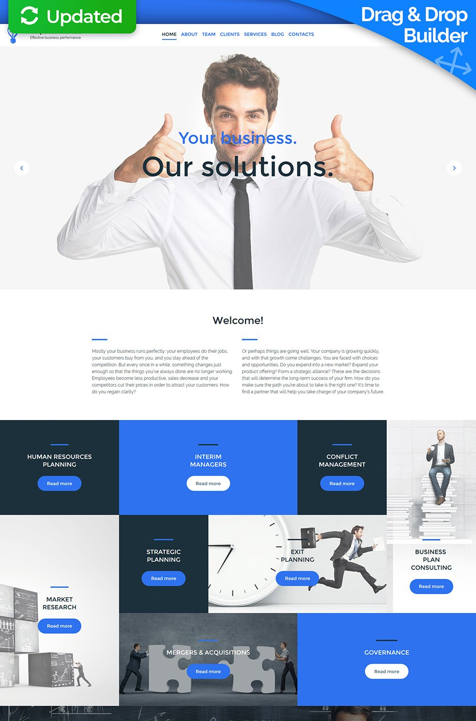 Corpo Rational Inc Responsive Website Template - image