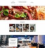 Кафе, рестораны, клубы. Шаблон сайта 59435