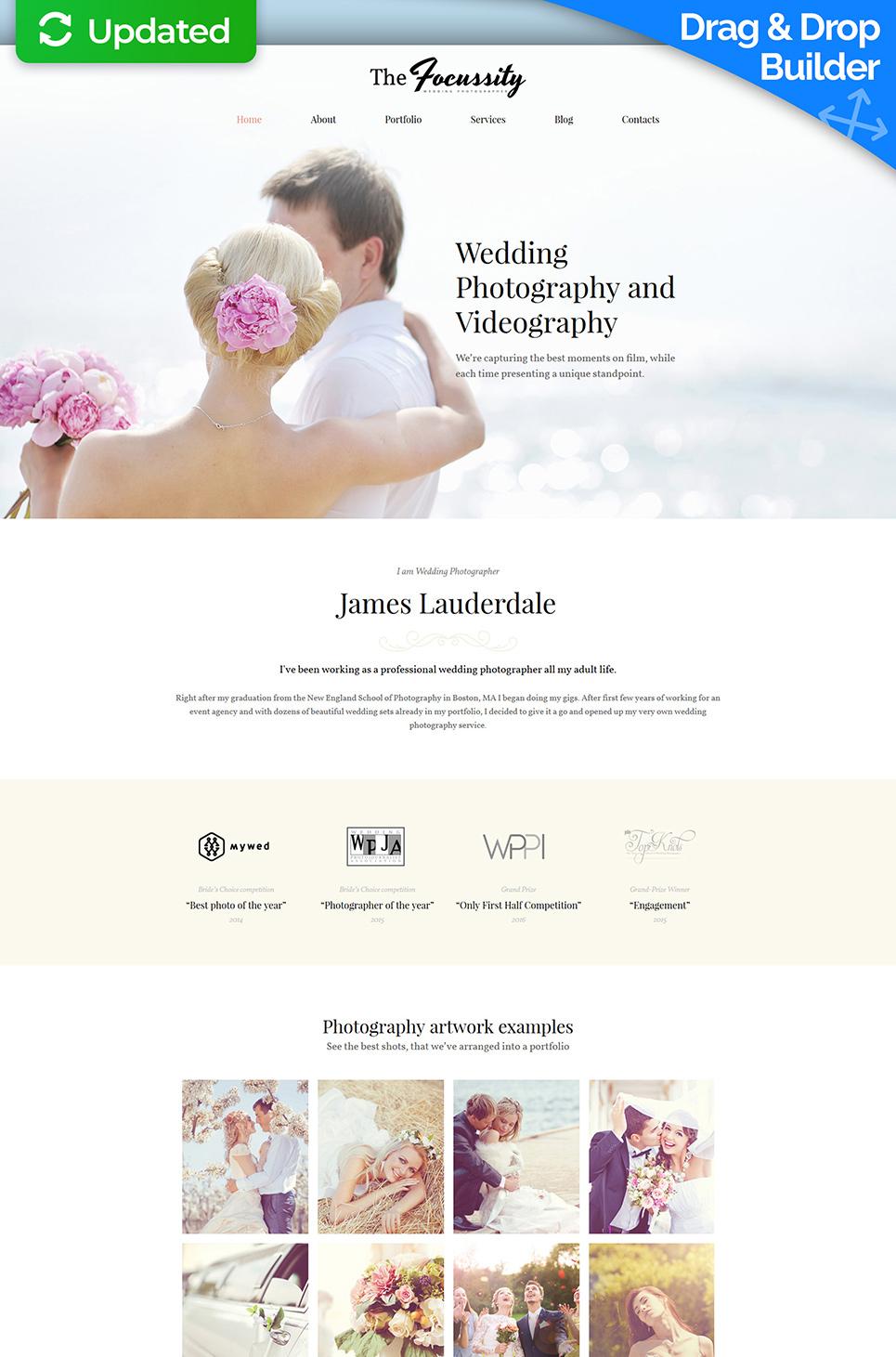 Focussity Responsive Website Template - image